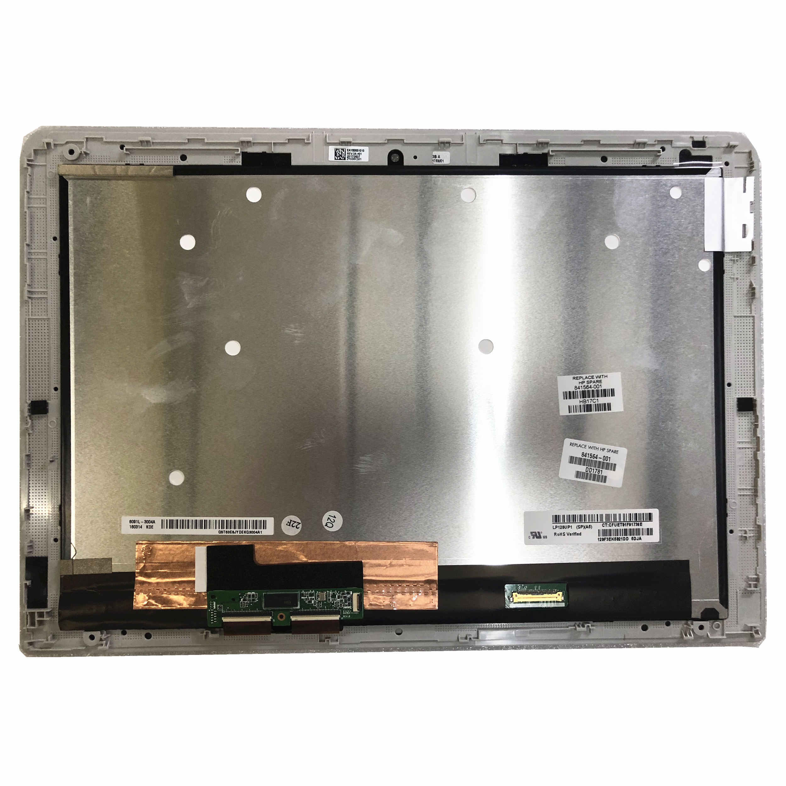 LP120UP1-SPA5 12.0''LED LCD Touch Screen Digitizer Assembly For HP Spectre X2 12-b000nd Assembly 1920*1280 841564-001