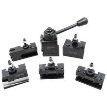 Förderung! 1 Set Stahl Werkzeug Post Set Universal Abschied Klinge Werkzeug Halter Für Mini Drehmaschine