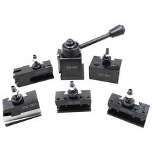 Promotion! 1 Set Steel Tool Post Set Universal Parting Blade Tool Holder For Mini Lathe
