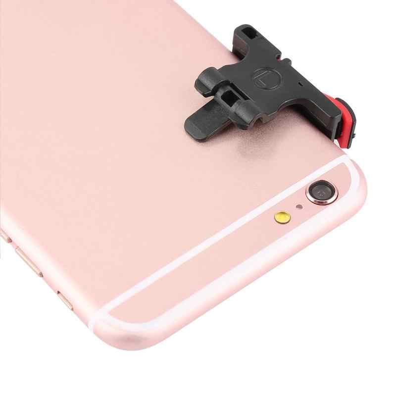 Teléfono Móvil juego objetivo clave teléfono inteligente juegos L1R1 tirador controlador PUBG para iPhone Xiaomi Huawei Gamepad gatillo Botón de fuego