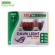 Xencn novo h4 12 v 100/90 w p43t 3800 k super brilhante dawn light faróis do carro para nissan almera frete grátis cabeça luzes novo 2pcs