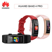 Huawei Band 4 Pro Smart Band Heart Rate Health Monitor Standalone GPS Proactive Health Monitoring SpO2 Blood Oxygen Wristband