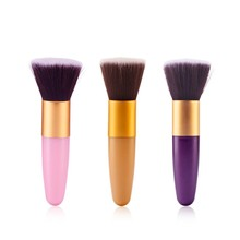 цена на Professional Foundation Powder Contour Brush Face Make Up Cosmetic Brush Eyeshadow Tools New Hot Brushes