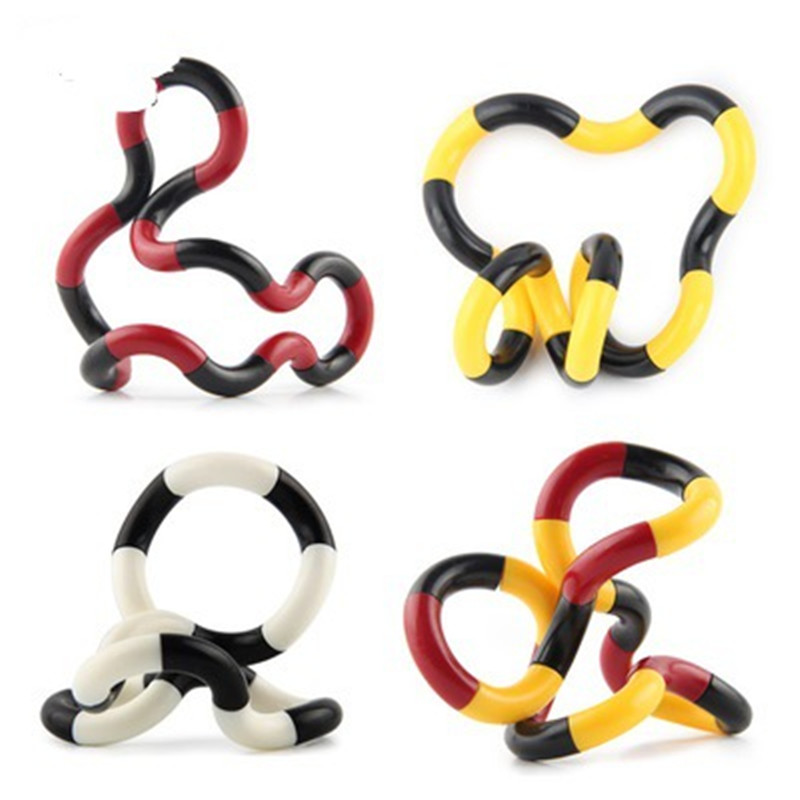 Toy Deformation-Rope Stress Fidget Adult Kids Child Colorful Twist Play Perfect