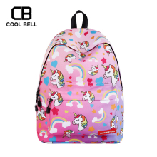 Women School Bag Unicorn Backpack Sports School Bags For Teenager Girls Travel Laptop Backpack SchoolBag Girls Small Backpack 2016 korean style women backpack leather black shoulder bag big size school back bags for teenager girls lady s laptop backpack