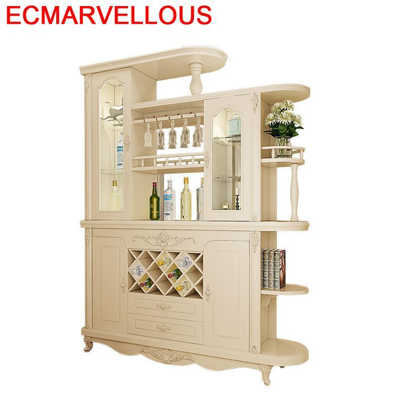 Vinho Cocina Gabinete Armoire Table Hotel Shelves Cristaleira Mobili Per La Casa Commercial Furniture Bar Shelf Wine Cabinet
