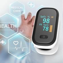 Oxímetro do oxímetro do pulso do oxímetro do dedo portátil spo2 oled da frequência cardíaca do dedo saturação do oxigênio no sangue medidor de pulso