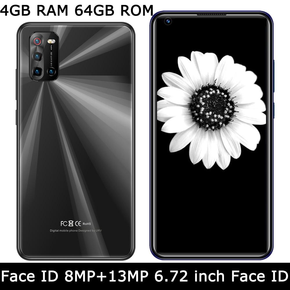 Мобильный телефон 5i Pro, 4 Гб ОЗУ + 64 Гб ПЗУ, фронтальная/задняя камера, глобальная версия, смартфон с функцией распознавания лица, оригинал, ...