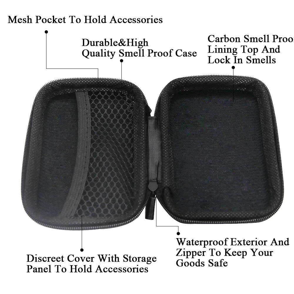 Portable Suede Tobacco Bag Set five-piece Suit Herb Storage Accessories