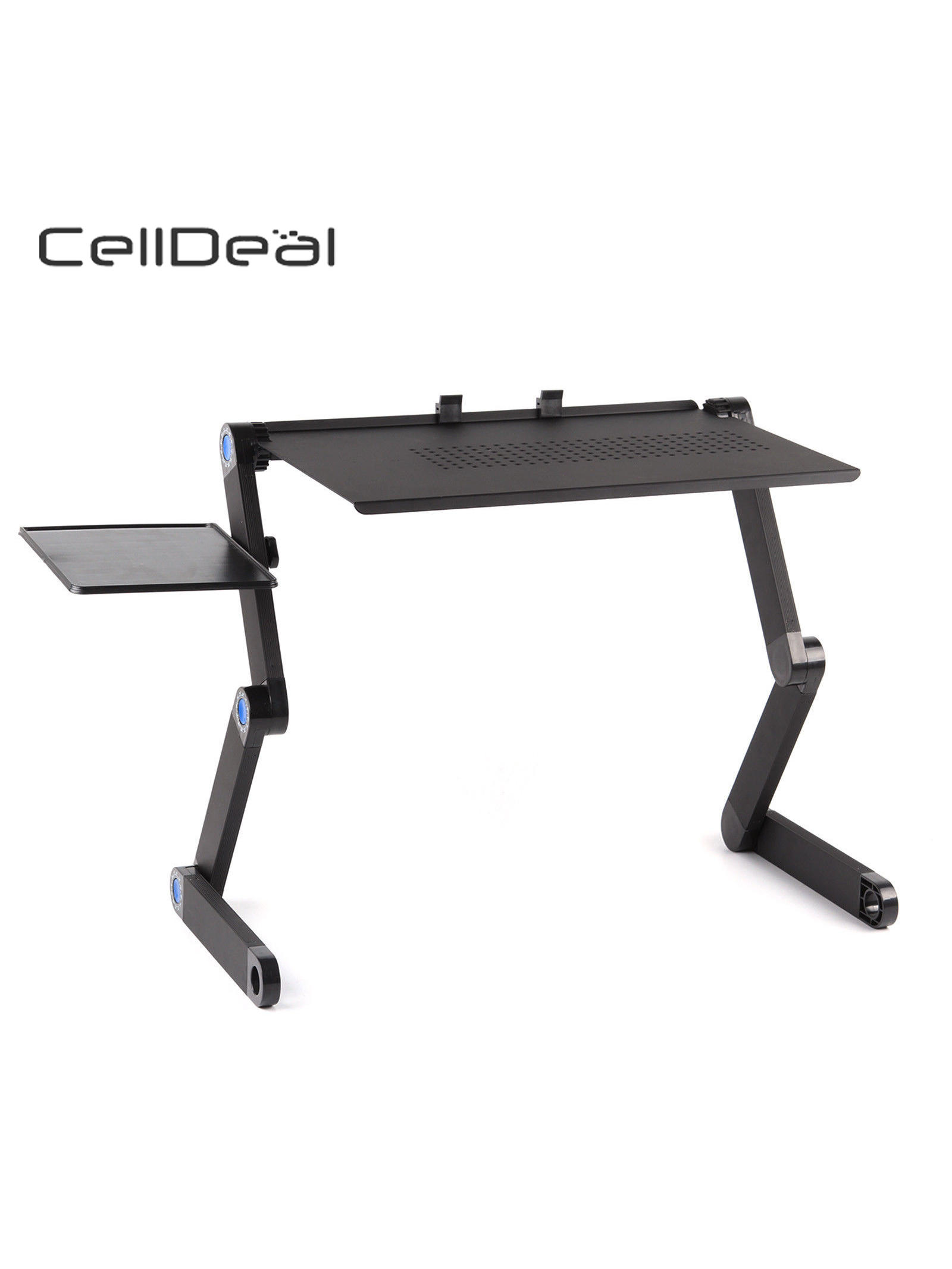 Laptop Desk Furniture Stand-Tray Computer-Table Folding for Bed Useful