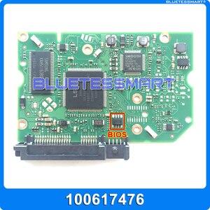 Запчасти для жесткого диска печатная плата логическая плата печатная плата 100617476 для Seagate 3,5 SATA hdd восстановление данных ремонт жесткого дис...
