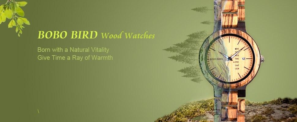 de madeira homem japão movimento relógio relogio masculino B-D27