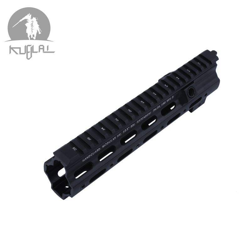 SMR <font><b>416</b></font> Tactical Airsoft Gel Blaster M4 <font><b>Handguard</b></font> 10.5Inch Picatinny Mounting Rifle Hunting Accessories image