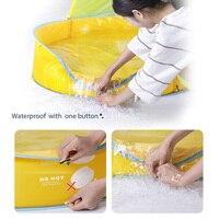 Waterproof For Kids Play Beach Portable Ball Frame Swimming Pool Sun Shade Clean Garden Tent Shape Indoor Outdoor Bathtub