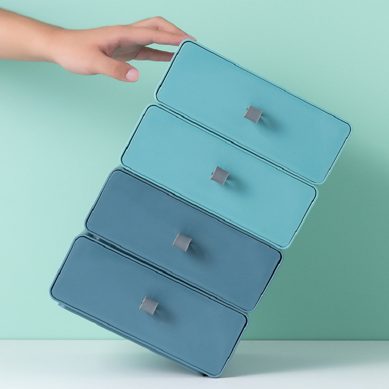 Desk Storage Drawers Makeup Organizer for Cosmetics Stationery Boxes Table Chest of  Desktop Closet Home Kitchen Cabinets Shelf
