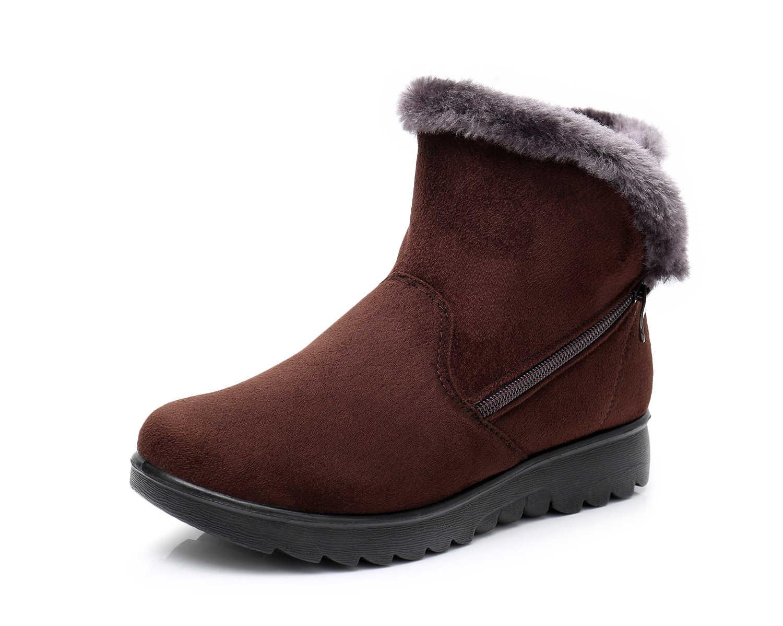 Yeni varış 3 stypes Kadın Kış ayakkabı Kar Botları kadın Süper Sıcak anne ayakkabısı Spor Ayakkabı büyük boy ayakkabı fabrika st480