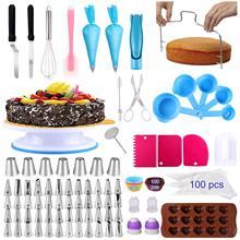 Mit Kuchen Kuchen-Dekorations-Kits 238pcs Von Dekorieren Drehbarem Plattenspieler-St