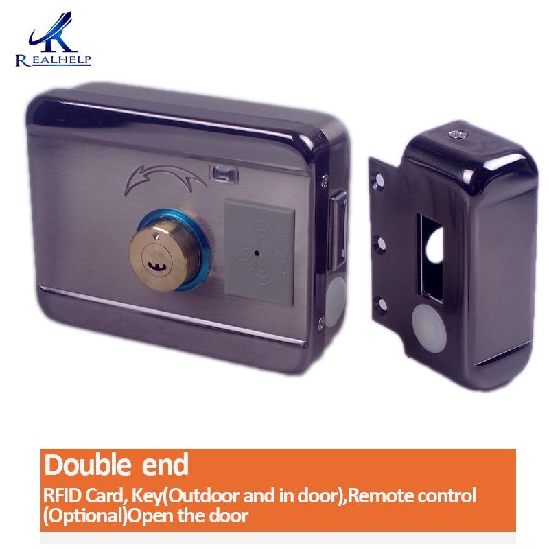 H543789245ea94b349e9c6cce940e244bP AA Dry Battery Easy Install Smart Lock RFID Electronic Locker Door Lock Wireless Rfid Electronic Battery Proximity Card Lock