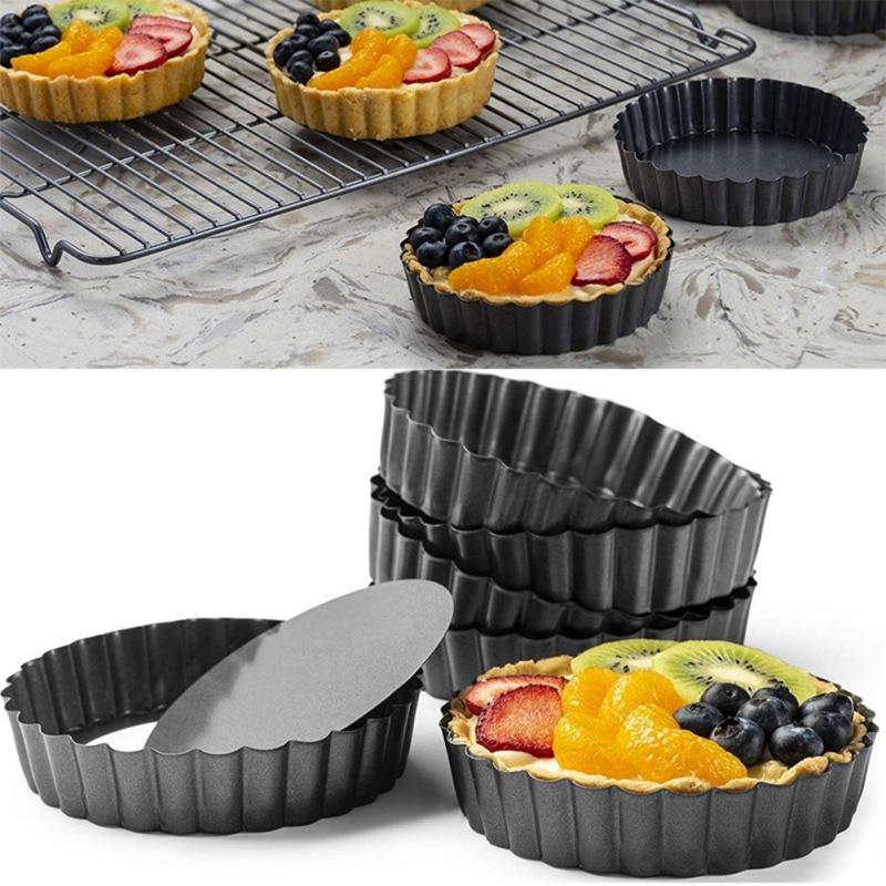 8/10/12 zoll Torte Hose Form Pizza Stein Non Stick Kuchen Cookie Liner Abnehmbare Lose Boden Wärme-beständig hause Backen Pan # s