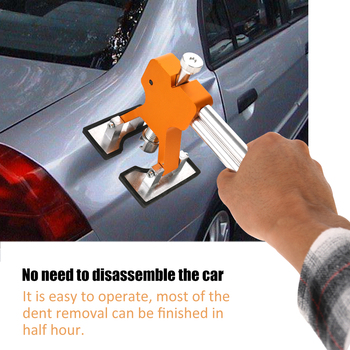 Hot Car Paintless Dent Repair Tool Dent Removal Repairing Kit 43pcs Car Dent Lifter Hammer Tap Down Tools Gasket Glue Tab