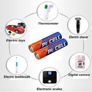 Image 5 - (40 ピースコンボパック) pkcell 20 pc aaa LR03 AM4 E92 20 pc LR6 AM3 E91 MN1500 aa アルカリ電池 1.5 v 電子温度計