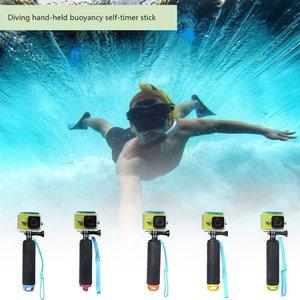Float Hand Grip Buoyancy Rod Pole Stick Monopod Tripod for Gopro Go Pro Hero 5 4 3 Xiaomi Xiomi Yi 2 4K 4 K Action Camera(China)