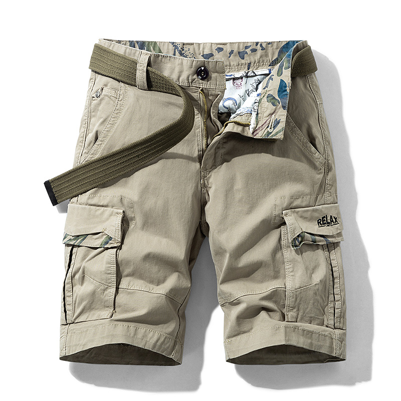 IiDossan Multi Pockets Cargo Shorts Men Summer Loose Work Shorts Man Military  Casual Short Pants Camouflage Hip Hop Shorts