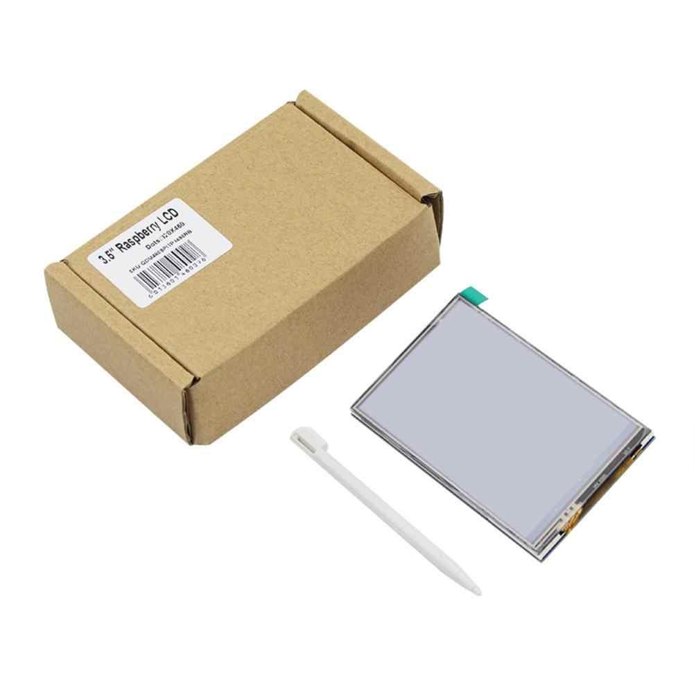 3.5 بوصة TFT شاشة إل سي دي باللمس شاشة لمراقبة التوت بي 3 2 نموذج B التوت بي 1 نموذج B + 480x320 RGB بكسل مع حالة