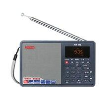 TECSUN ICR 110 karta FM/Radio AM TF odtwarzacz MP3 odtwarzacz radiowy Radio przenośne