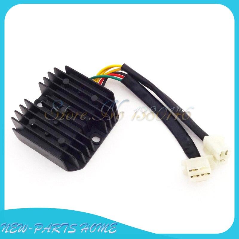 Регулятор напряжения Выпрямитель 6 проводов для мотокросса CH 125 150 250 CC мопед Скутер Atv
