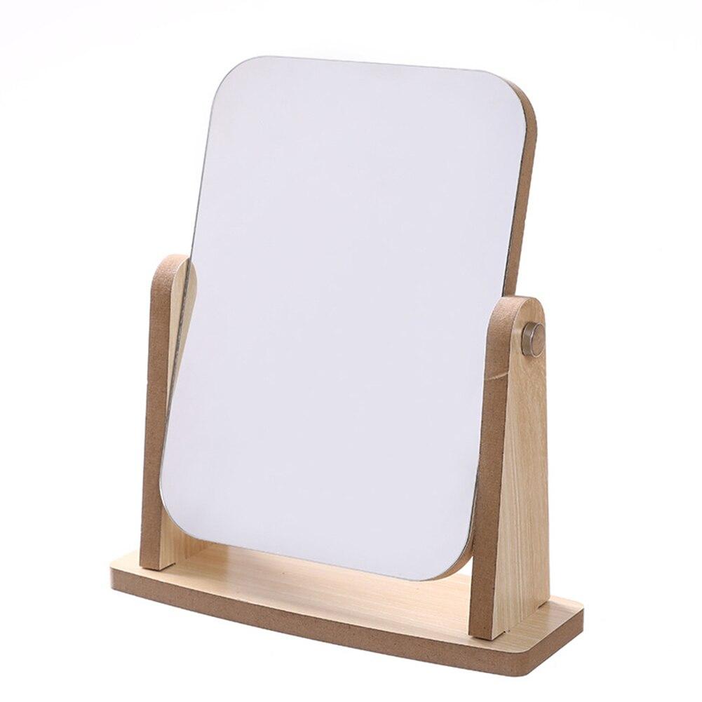 Деревянная подставка, зеркало для макияжа, косметическое настольное зеркало для макияжа, зеркала для красоты, студенческое зеркало для книг|Зеркала для макияжа|   | АлиЭкспресс
