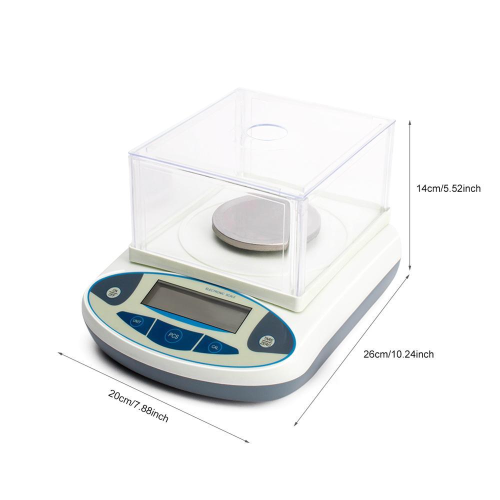 300g/0.001g laboratoire scientifique de haute précision laboratoire de Balance électronique analytique numérique pèse des balances de bijoux de laboratoire