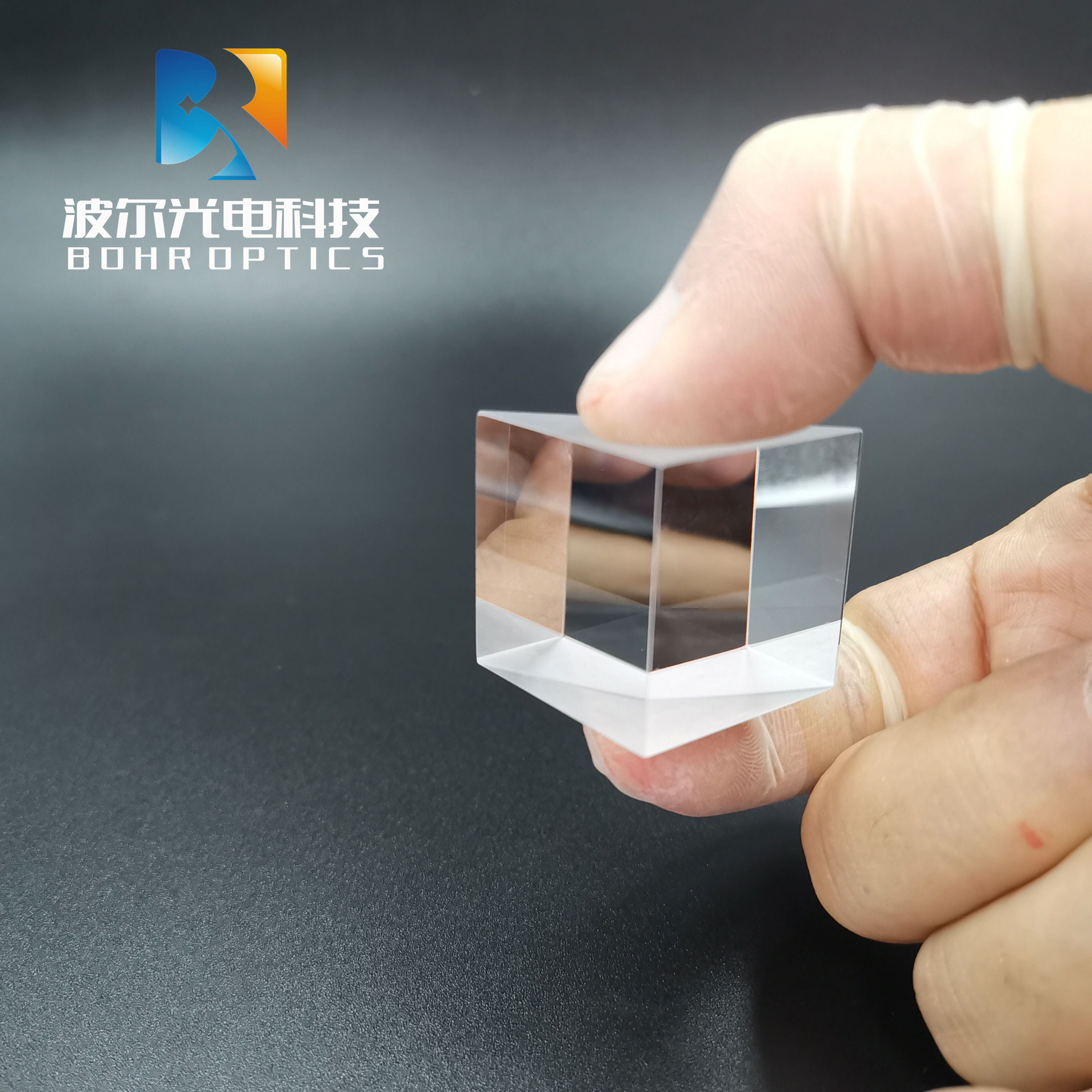 10x10x10mm Right Angle Prism Coating AL N-BK7 (K9) Optical Components Glass for Precision Optical Instruments