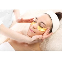10pcs Gold Crystal Collagen Eye Mask Eye Patches For Face Care Dark Circles Remove Gel Mask for the Eyes Ageless  Eye Mask HOT!! 5packs 10pcs collagen crystal eye hydrogel patches for eyes pad face mask for skin care remove dark circles puffiness eye patch