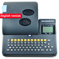 S650/S700 marchio Linea stampante Versione Inglese Non È collegato per il Cavo del computer ID Printe Stampante Tubo IN PVC Filo marchio Macchina