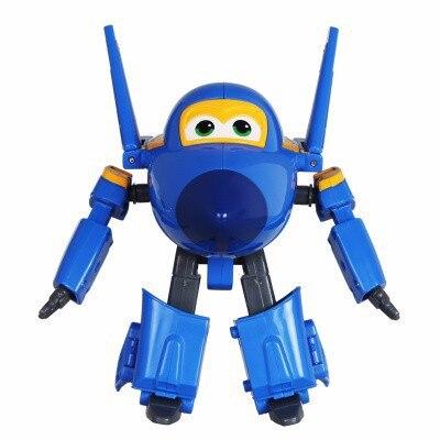 Большой! 15 см ABS Супер Крылья деформация самолет робот фигурки Супер крыло Трансформация игрушки для детей подарок Brinquedos - Цвет: No Box JEROME