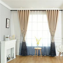Full Blackout Curtains for Living Room Bedroom Fabric Water Castle Curtain Classic European Style Thick Roman Tulle