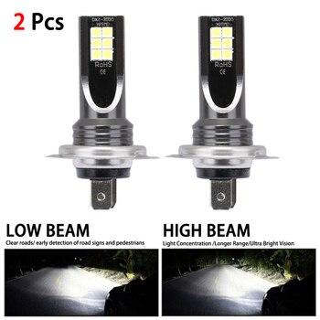 цена на 2pcs H7 80W 10000Lm LED Car Headlight Conversion Globes Bulbs Beam 6000K Kit Car Headlight Bulb Led Lamp for Cars