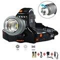 Светодиодный фонарик  CREE XM-L T6 светодиодный налобный фонарь с масштабированием 10000 люмен Водонепроницаемый для использования в помещении и ...