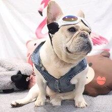 French Bulldog Demin Waistcoat Jacket Dog Clothes Winter Warm Pet Puppy Jean Hoodie Coat Schnauzer Chihuahua Jacket Pug AQC10 юбка demin