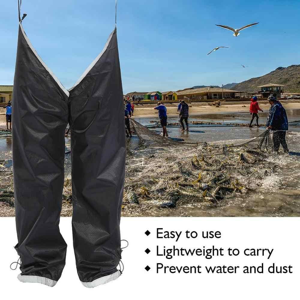 Wilde Vissen Anti-vuil Waterdichte Broek Benen Bergbeklimmen Rijden Trekking Splash-proof Eenvoudige Draagbare Regen Broek 40DC13