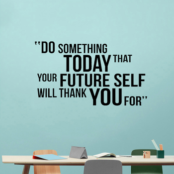 Do Something Today Motivational Quote Wall Decal Vinyl Lettering Sticker Murals for Gym Home Decor gym fitness wall sticker motivational quote vinyl art decal removable home room decor