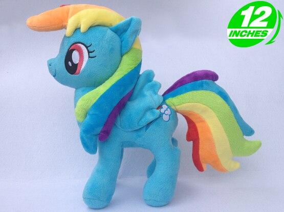 Unicorn Rainbow Horse Plush Action Toy Figures 12