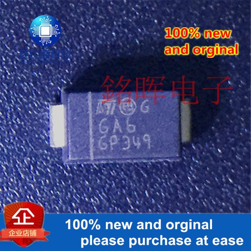 10 шт. 100% новый и оригинальный STPS160A обрамление шелкотрафаретной печатью GA6 60V 1A cубминиатюрный разъем версии A, в наличии