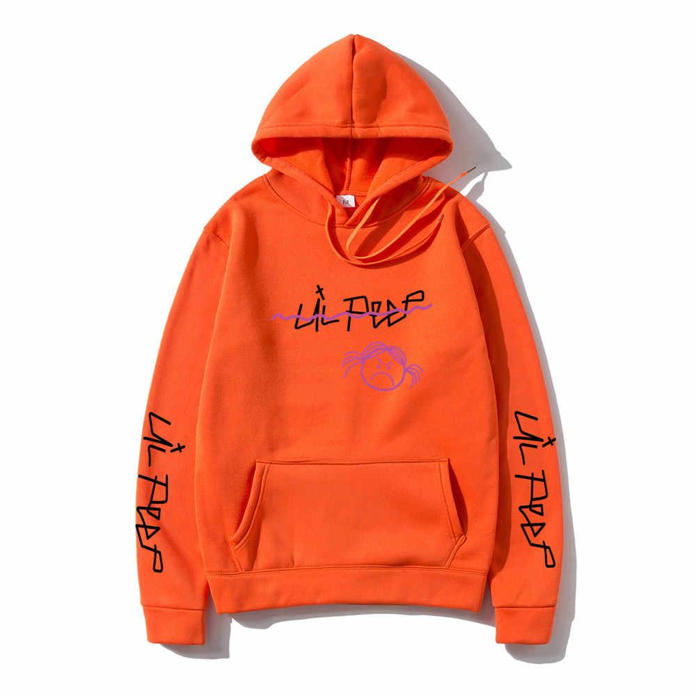 Lil Peep Hoodies Love lil.peep 남성 스웨터 후드 풀오버 스웨터 남성/여성 sudaderas cry baby men Hoodie Streetwear