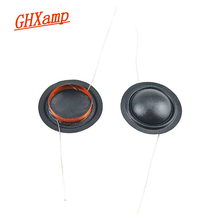 Ghxamp 19.43mm Tweeter Voice Coil 19Core KSV Silk Film Round Copper Winding 19Core 8OHM 2PCS