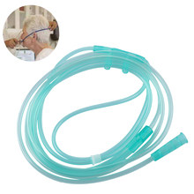 1PC/3PC/5PC Fashion Plastic Disposable Oxygen Tube Double Nasal Oxygen Tube Suction Straw Breathing Cannula Independent Packing