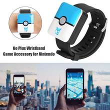 Auto catch For Pokemon Go Plus Bluetooth Wristband Bracelet Watch Game Accessory Automatic Catch Smart Wristband for Pokemon Go(China)