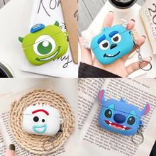 Cute For Airpods pro Case Silicone Apple Airpods2 1 Funny Cartoon Soft Earphone Protect Cover airpods 3 With Keychain