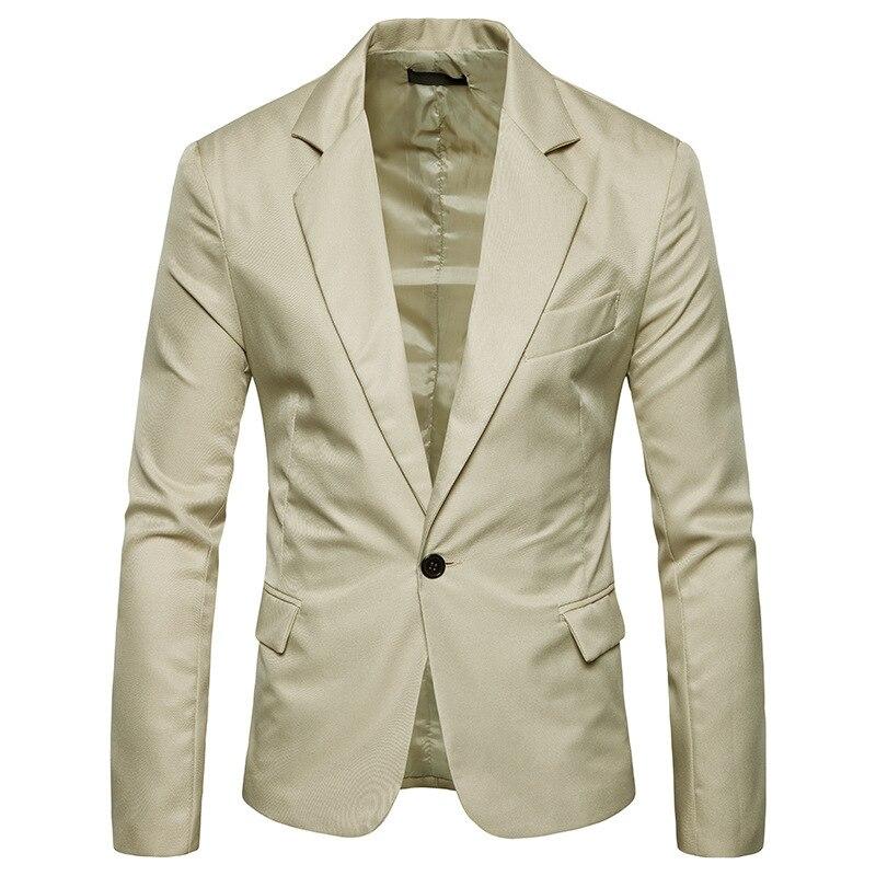 Blazer Jacket Suit Men  Leisure Suits Slim Fit Men Clothes